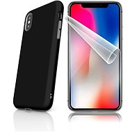 Skinzone Tough for iPhone X SLVS0020, Black and Black - Protective case by Alza