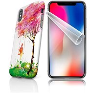 Skinzone Tough for iPhone X SLVS0028, Lucky Tree - Protective case by Alza