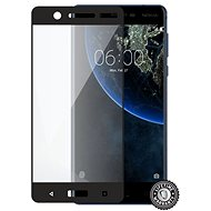 Screenshield NOKIA 5 (2017) Tempered Glass protection (full COVER black) - Tempered glass screen protector