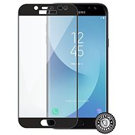ScreenShield for SAMSUNG J730 Galaxy J7 (2017) Tempered Glass Protection (Black) - Tempered glass screen protector