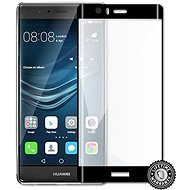 Screenshield Huawei P9 Plus VIE-L09 Tempered Glass Protection (full COVER BLACK metallic frame) - Glass protector