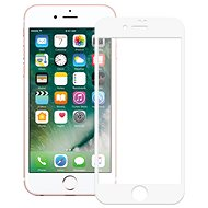 Screenshield APPLE iPhone 8 Tempered Glass Protection (Full Cover - White) - Glass protector