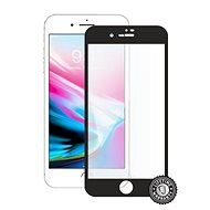 Screenshield APPLE iPhone 8 Plus Tempered Glass Protection (Full Cover - Black) - Glass protector