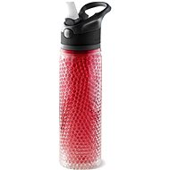 ASOBU Deep Freeze Beverage Cooling Bottle Red 600ml - Bottle