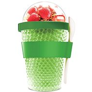 ASOBU multifunctional CY2GO tumbler lime 386ml - Box