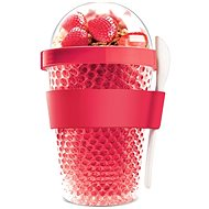 ASOBU multifunctional CY2GO tumbler red 386ml - Box