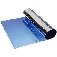 FOLIATEC - metallized, transition shading strip on the front window - blue - Lens Hood