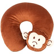 Walser Travel Pillow/Neck Collar Monkey Brown (from 5 years) - Pillow