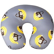 Walser cushion travel / neck collar Monkey grey (from 5 years) - Pillow