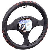 COMPASS BLIND steering wheel cover red - Car Seat Covers