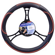 COMPASS WAVE steering wheel cover red - Cover for a