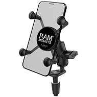 RAM Mounts X-Grip with Attachment to the Motorcycle Steering - Mobile Phone Holder