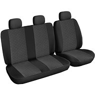 SIXTOL Ford CUSTOM Transit, 3-seater, anthracite - Car Seat Cover
