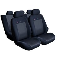 SIXTOL Peugeot Boxer II, 3-seater, from 2006 onward, black - Car Seat Cover