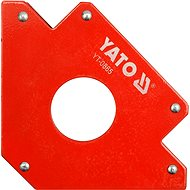 YATO Magnetic angle for welding 34kg with hole - Holder