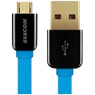 AVACOM MIC-120B microUSB 120cm blue - Data cable
