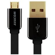 AVACOM MIC-120K microUSB 120cm black - Data cable