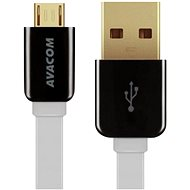 AVACOM MIC-120W microUSB 120cm white - Data cable
