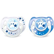 Philips AVENT Pacifier NIGHT 6 - 18 Months, Blue - Pacifier