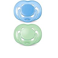 Philips AVENT SENSITIVE 6-18 months, blue and green - Pacifier