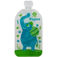 Petite&Mars Papoo Food Pouch - 6 × 150ml - Feeding Set