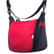 Caretero Pram Bag - Black/Red - Pram Bag