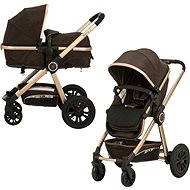 Gmini Grand Combined - Brown/Gold - Baby Buggy