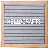 GOLD BABY Letterboard - 360 letters - gray - Notice-board
