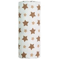 T-tomi Bamboo Towel 1 Piece - Beige Stars - Children's bath towel