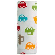 T-tomi Bamboo Towel - Cars - Children's bath towel