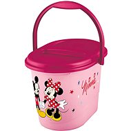 "First Baby Baby Basket ""Mickey & Minnie"" - Diaper Bin"