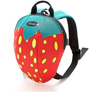 Clippasafe Backpack with Strawberry Leash - Children's backpack