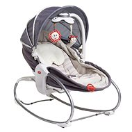Tiny Love Lounge 3-in-1 Cozy Rocker Napper grey - Deck Chair