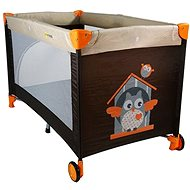 Petite & Mars Koot Brown - Travel Cot