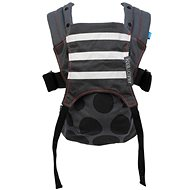 We Made Me Kaatu Baby Carrier Black Gradient Spots - Carrier