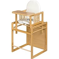 New Baby High Chair by Victory - Natural Wood - highchair