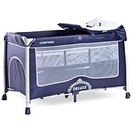 CARETERO Deluxe navy - Travel Bed