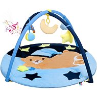 PlayTo Musical Play Mat with PlayTo Melodies Sleeping Blue Teddy Bear - Children's blanket