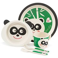 ZOPA Bamboo Dish Set - Panda - Children's Dining Set