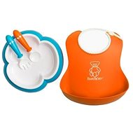 Babybjörn Dining Set Orange/Turquoise - Cookware Set