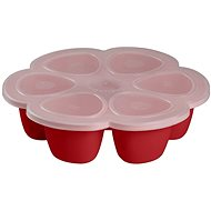 Beaba Multi-dosing tray for food 6 × 150ml red - Container