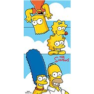 Jerry Fabrics Simpsons family clouds - Towel
