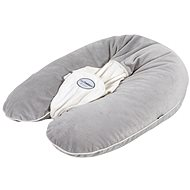 Candide Multirelax nursing pillow is a plush gray - Pillow