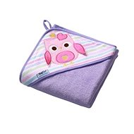 BabyOno Hooded Towel - purple - Towels for babies