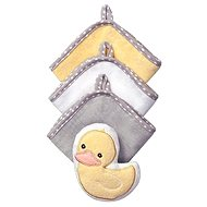 BabyOno Washcloths with a Sponge - Duck - Washcloth