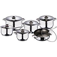 Blaumann Set of dishes Gourmet Line 12pcs BL-3167 - Cookware Set