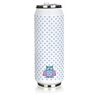 BANQUET Thermos BE COOL Owl 430ml, blue - Thermos