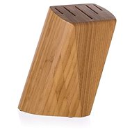 BANQUET Wooden Stand for 5 Knives BRILLANTE Bamboo 22 x 13.5 x 7cm - Knife Block