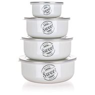 BANQUET SWEET HOME, 8pcs - Food Container Set