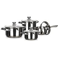 BANQUET Set of stainless steel dishes EMBASSY 8pcs - Cookware Set